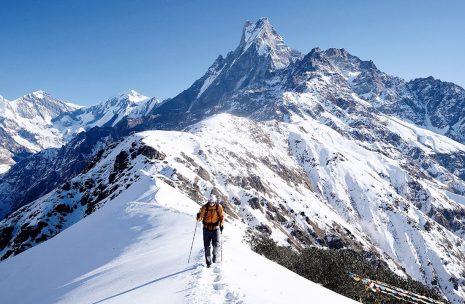 Mardi Himal Trek, High Camp of Mardi Himal