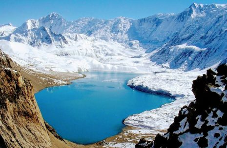 Tilicho Lake, Manang district, Lake in mountain