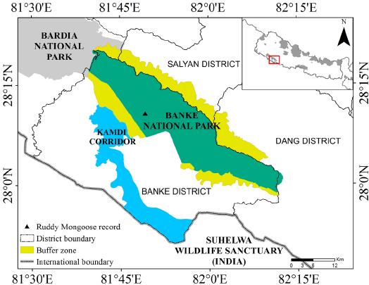 Bardia National Park Safari Package Map