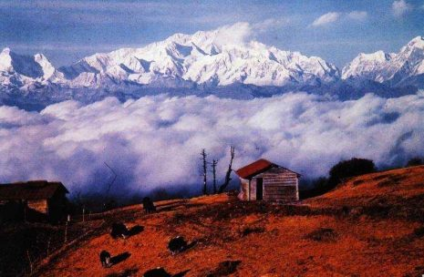 Darjeeling trek in India